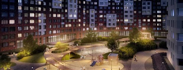 В ЖК «Румянцево-Парк» завершены монолитные работы первого корпуса проекта   - Фото