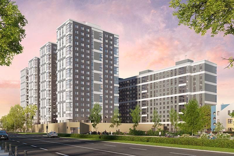 Группа «Эталон» открыла продажи квартир в новом комплексе «Московские ворота II»