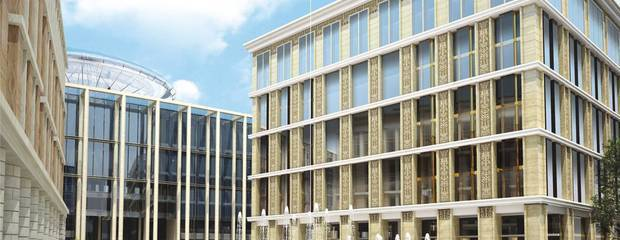 «Галс-Девелопмент» завершил важный этап нового строительства объекта  «Невская Ратуша» - Фото