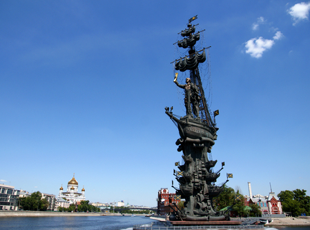 Памятник Петру I уберут вслед  за Лужковым