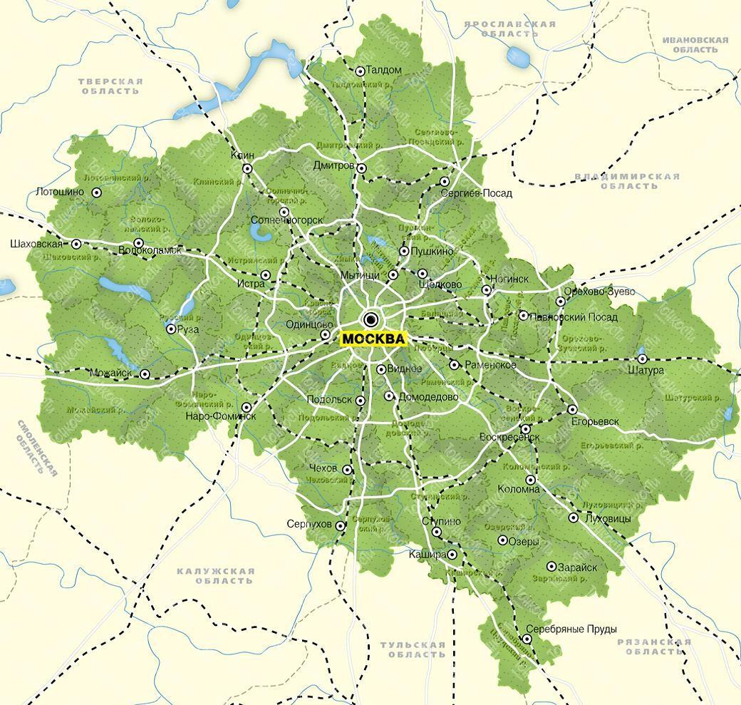 Объединение Москвы с областью может произойти в феврале 2011 года
