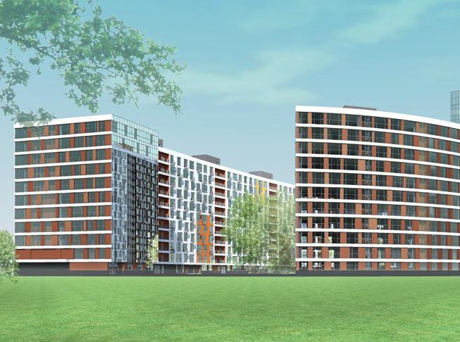 В Мытищах возводится ультрасовременный жилой комплекс бизнес-класса «Рождественский»