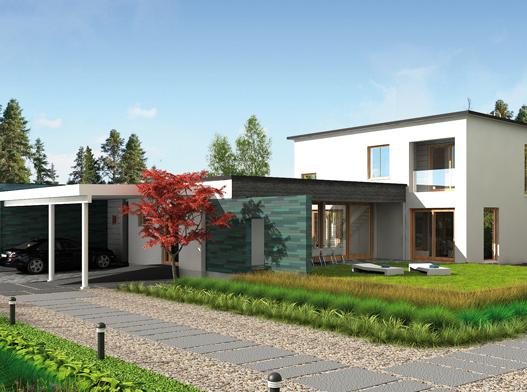 Финские строители придумали деревянный дом, не похожий на деревянный