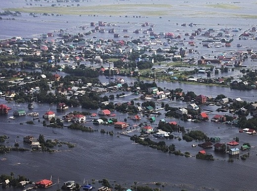 Ущерб от наводнения на Дальнем Востоке может превысить 40 миллиардов