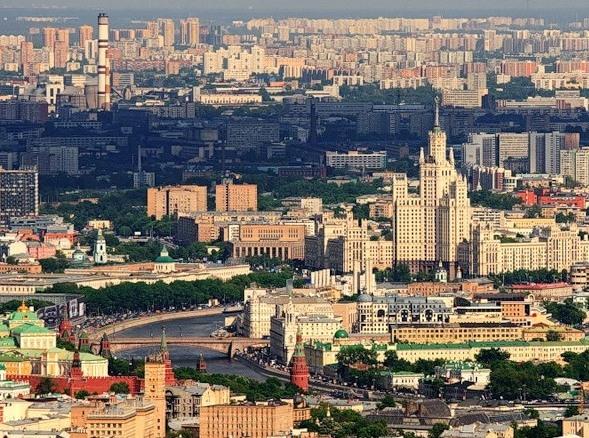 Москва застроена почти полностью
