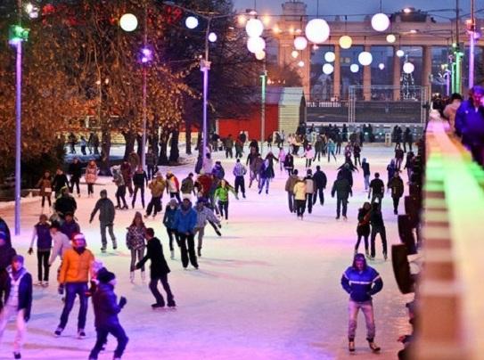 Катки в московских парках откроются 15 ноября