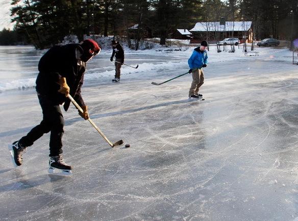 В каждом пятом коттеджном поселке есть каток или лыжня