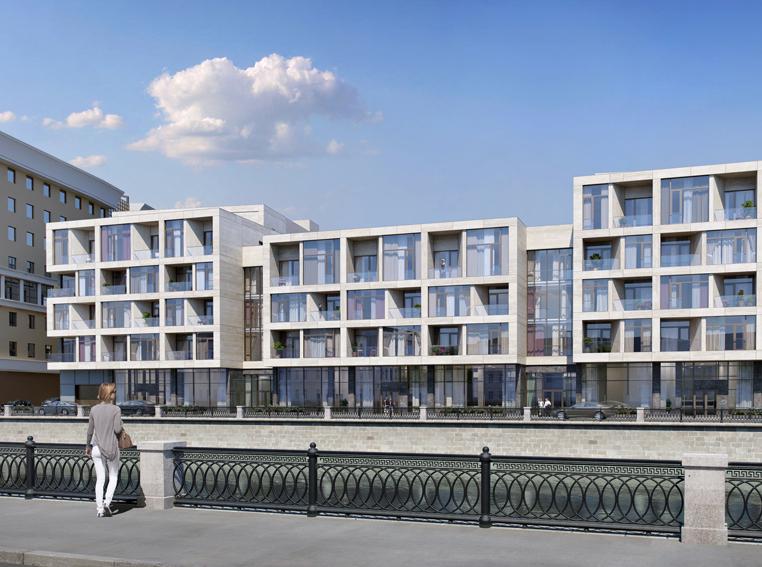 На Садовнической набережной будет возведен новый комплекс апартаментов