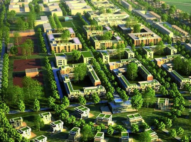 В Подмосковье строится 65 крупных комплексных проектов