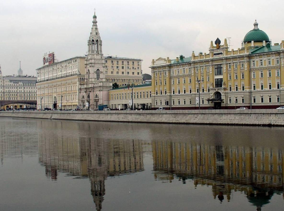 Один из самых дорогих участков Москвы будет продан под элитное жилье