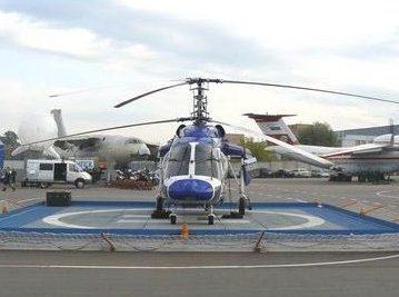 В России появится система алюминиевых вертолетных площадок