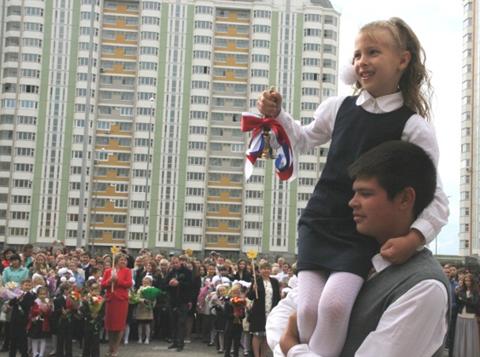 В микрорайоне  «Центр-2» в городе Железнодорожный открылась новая школа