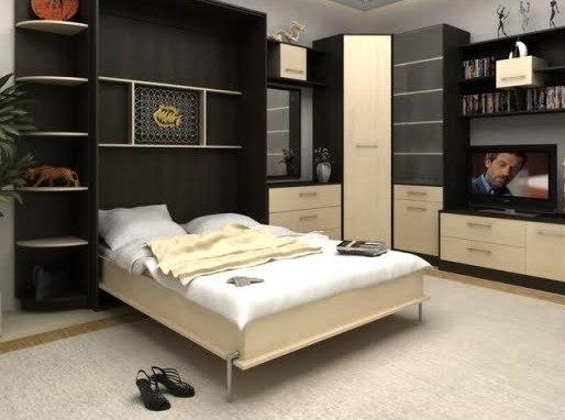 Лишь половина владельцев квартир-студий обставляют их многофункциональной мебелью