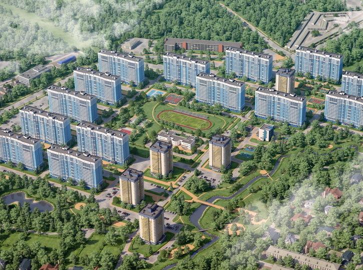 Мкр «Лобня Сити» признан лучшим проектом класса «эконом-комфорт» в Подмосковье