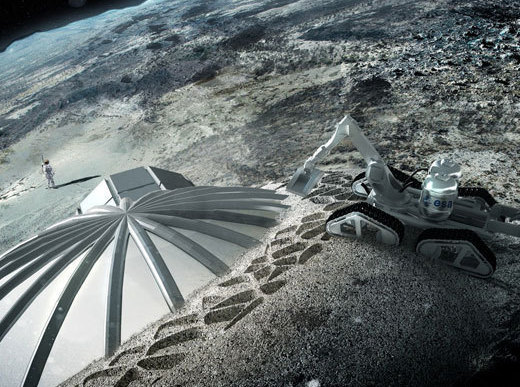 Компания из Сколково готова возвести базу на Луне