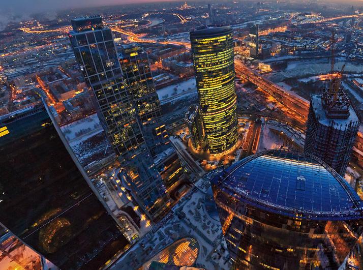 В 2014 году в России было введено в два раза больше офисных площадей, чем в 2013-м