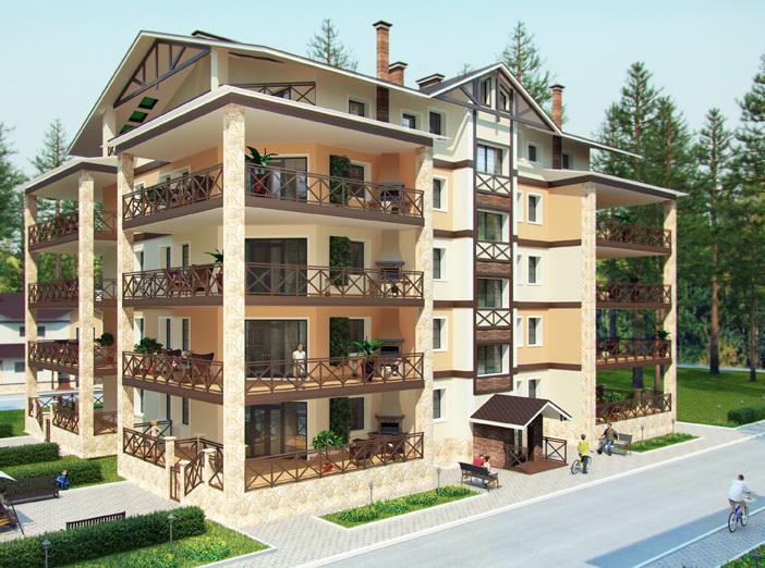Загородные апартаменты показали рост продаж в ушедшем году