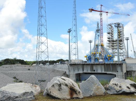 Строительство объектов космодрома Восточный отстаёт от графика на 4 месяца