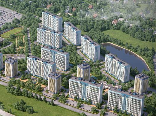 Est-a-Tet начала реализацию микрорайона «Город Счастья»
