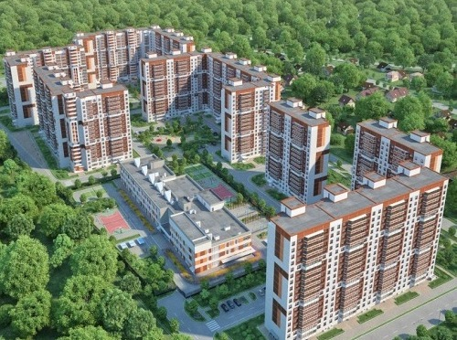 В Железнодорожном продаются квартиры в почти готовом ЖК «Ольгино Парк»