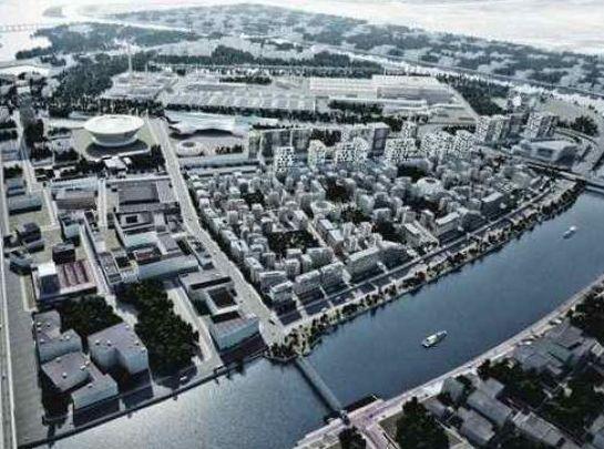 Четвертая часть объема столичного строительства ведется в промзонах
