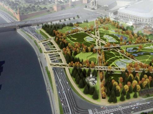 Амбициозный проект парка «Зарядье» может подорожать в два раза