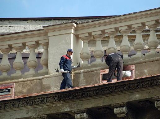 Казанский собор осветлили без ущерба памятнику