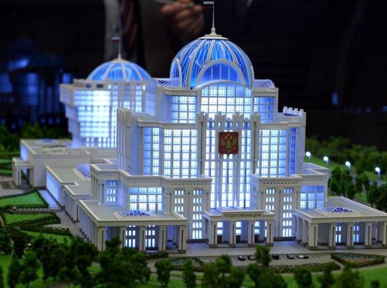 Облик парламентского центра в столице выберут до конца года
