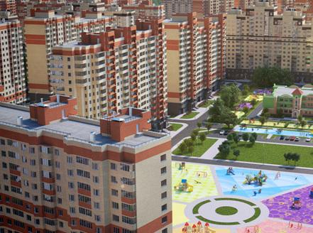 Квартира + Детский сад с бассейном + Школа = Счастливая семья в ЖК «Лукино-Варино»!