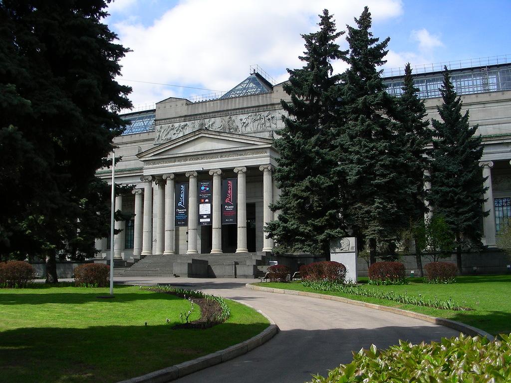 Здания Пушкинского музея реставрируют одно за другим