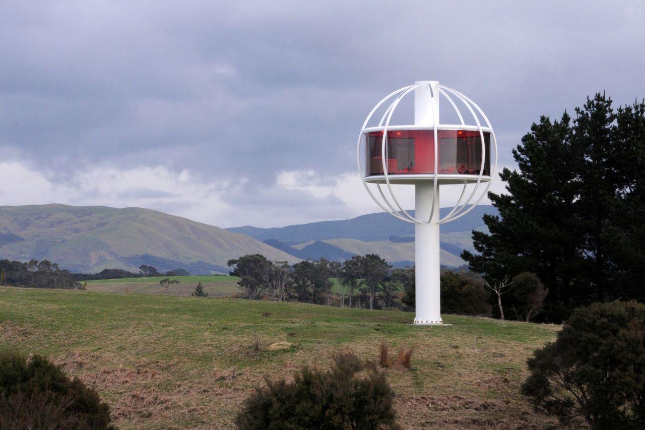 Дом-дерево возвели в Новой Зеландии