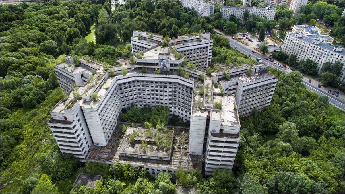 Территорию Ховринской больницы частично застроят жильем
