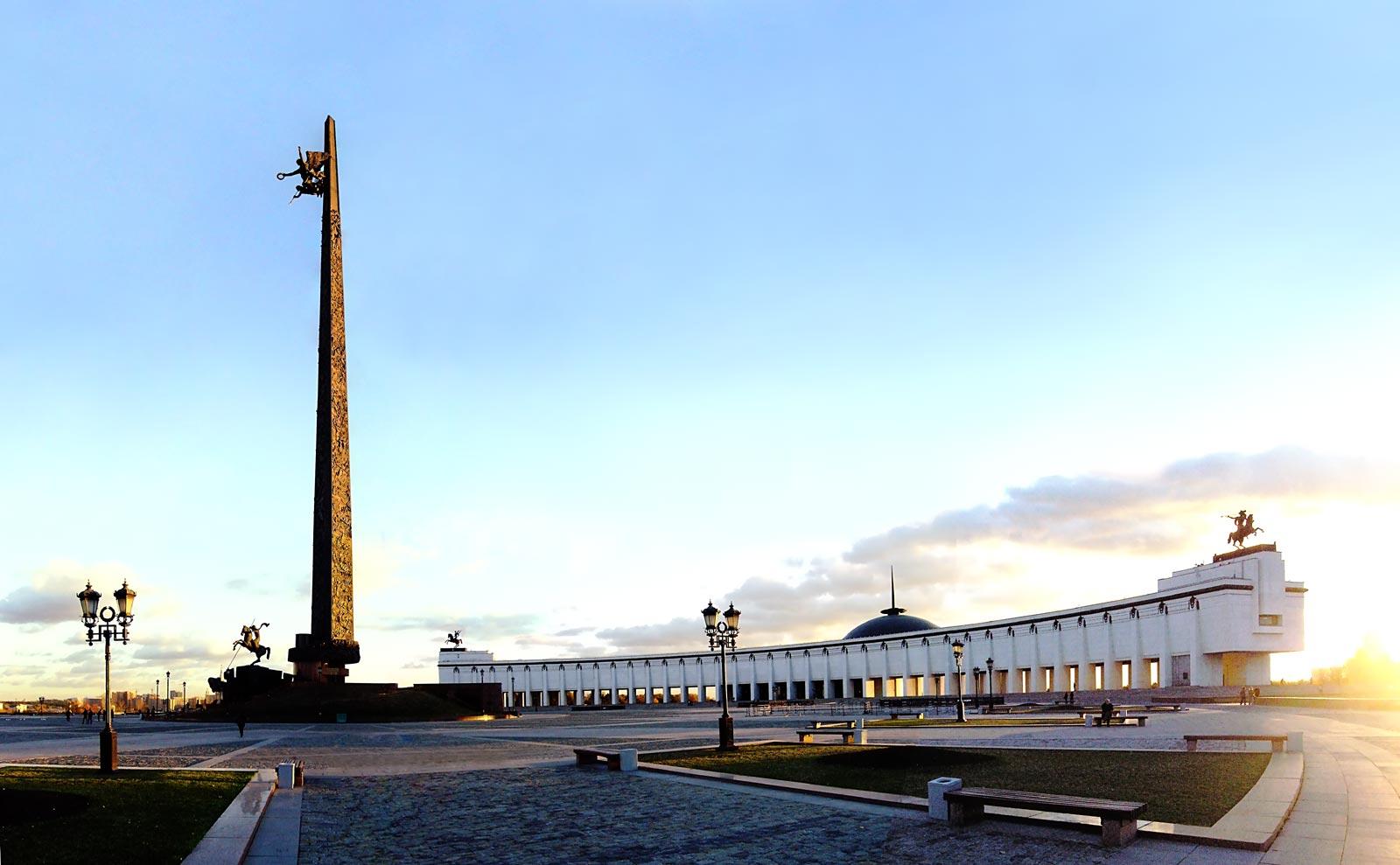 На Поклонной горе появится вертолетная площадка МВД РФ