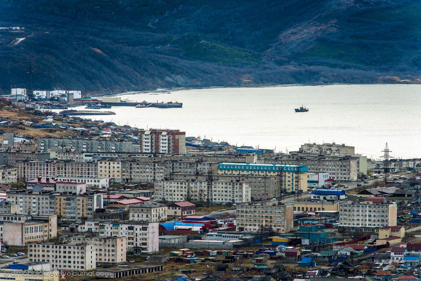 Китайцы возведут в Магадане «Золотой город»