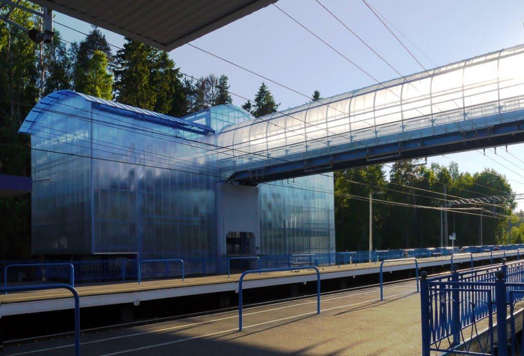 Столичных застройщиков могут обязать строить переходы через железную дорогу