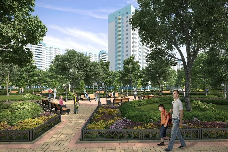 Микрорайон «Город Счастья» - проект года эконом-класса Подмосковья