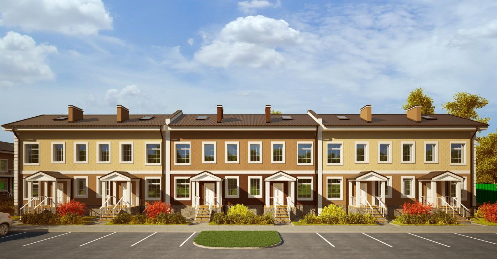 Стартовали продажи просторных таунхаусов на 160 кв.м. в ЖК «Мечта»