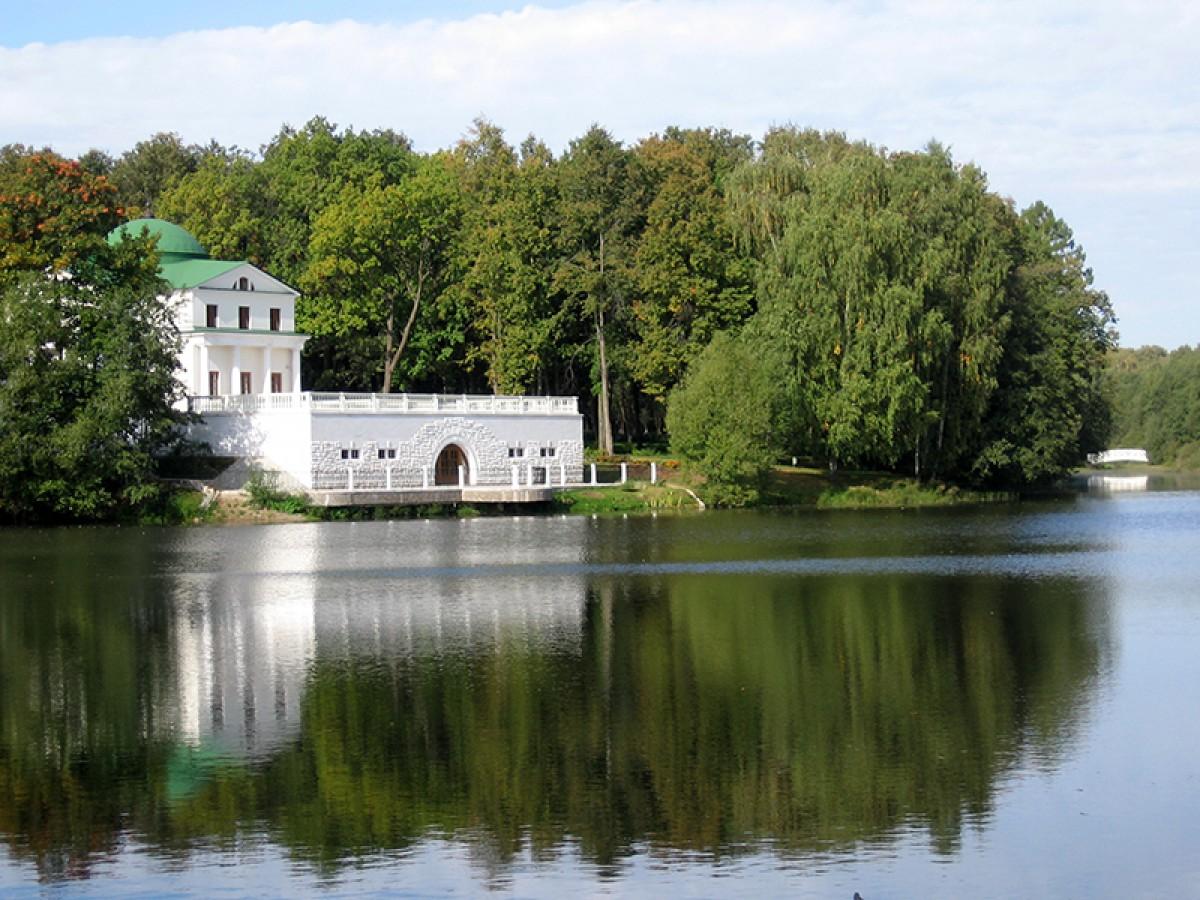 В усадьбе «Остафьево» реконструируют историческую плотину