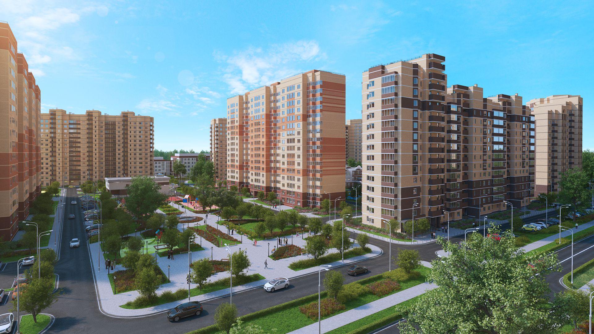 В ЖК «Лукино-Варино» в Щелково объявлены скидки на квартиры в готовых домах