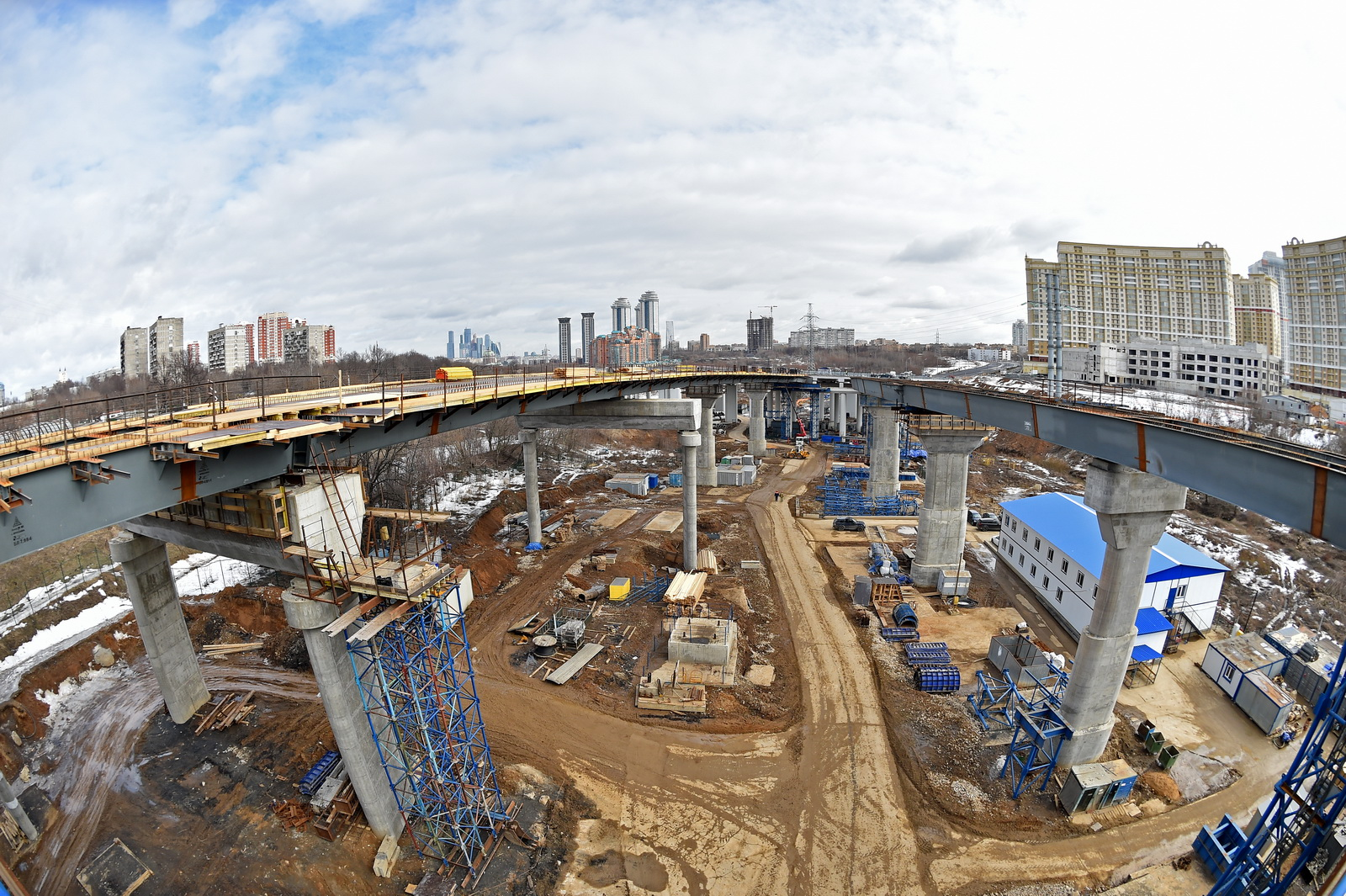 Строительство Северо-Западной хорды завершится в 2018 году