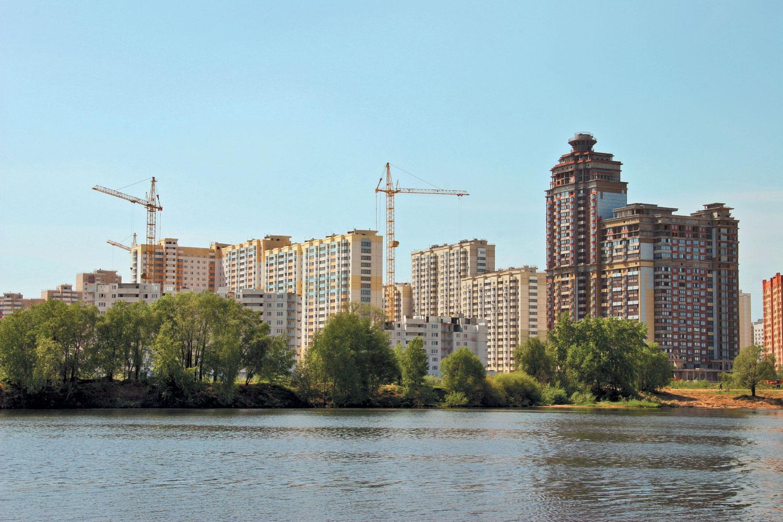 Рынок недвижимости Подмосковья вернулся на три года назад