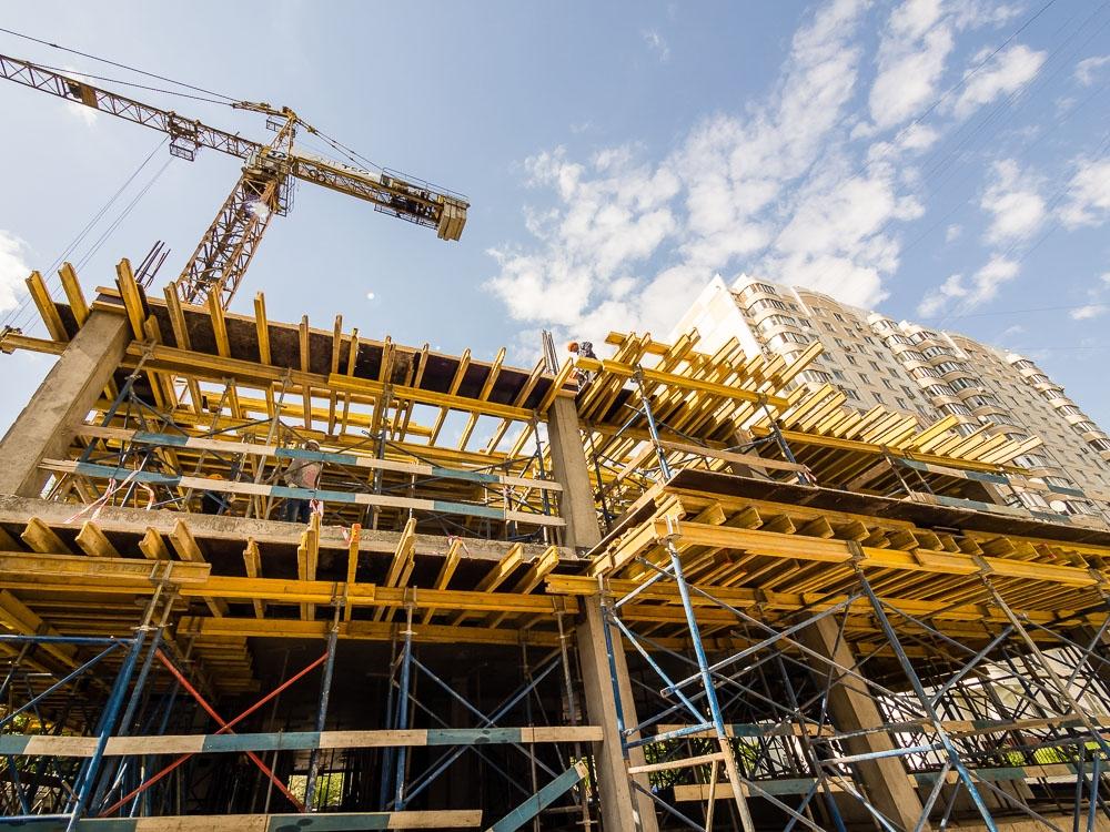 На 15% выросла себестоимость строительства с начала кризиса