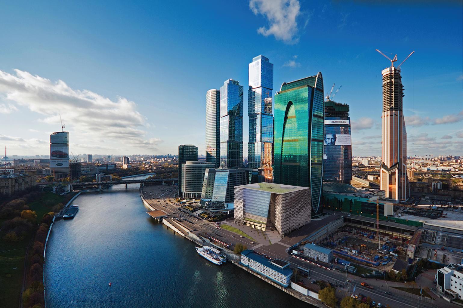 Сто миллионов долларов стоит строительство фрагмента набережной Москва-Сити