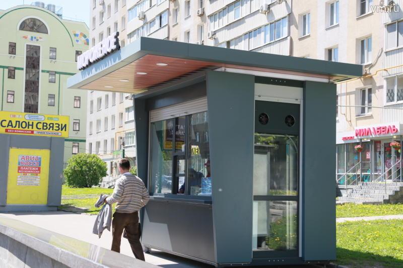 Торговые палатки в Москве разрешат ставить рядом с магазинами