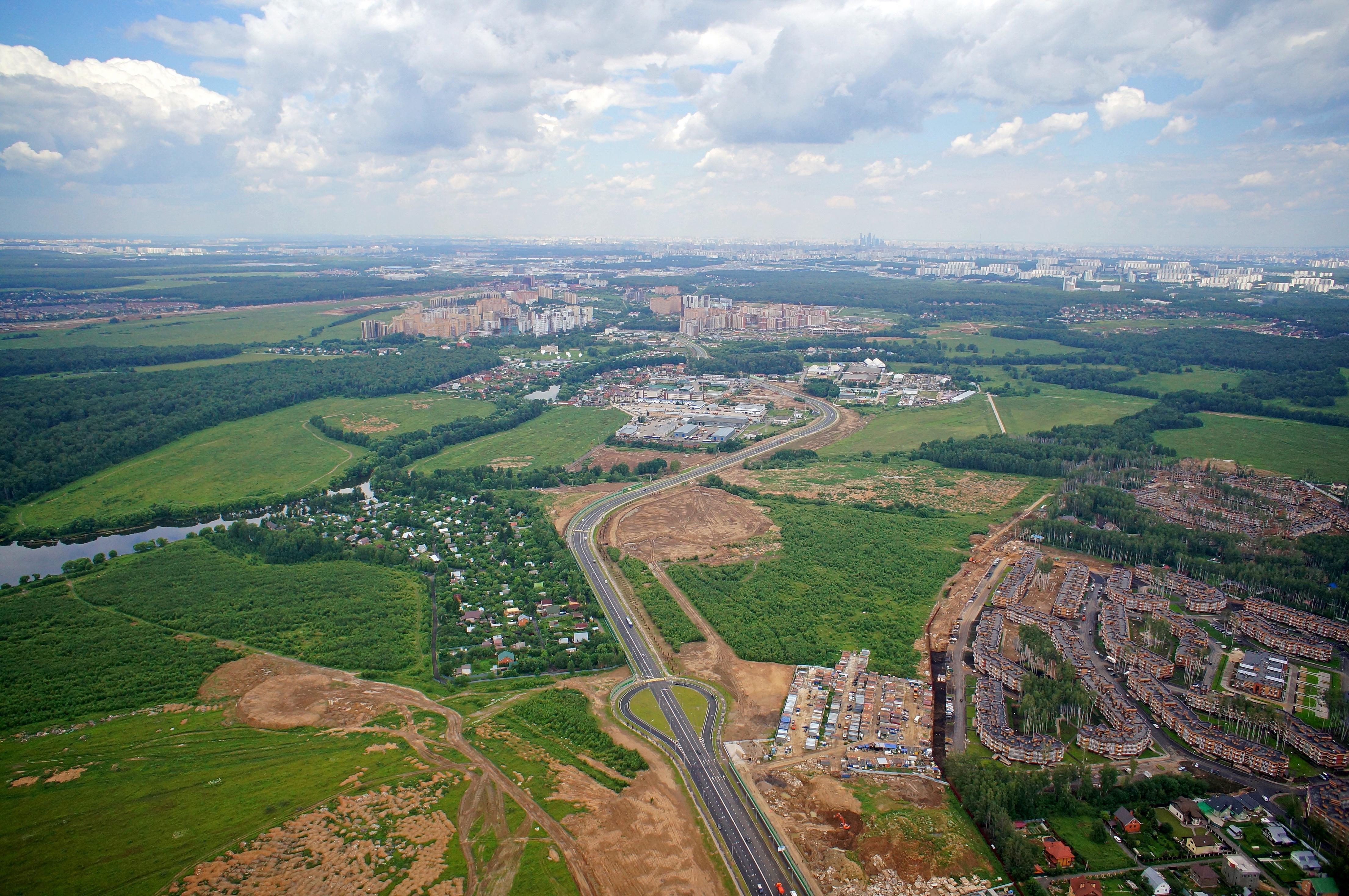 В Новой Москве за миллиард рублей возведут «Парк героев»