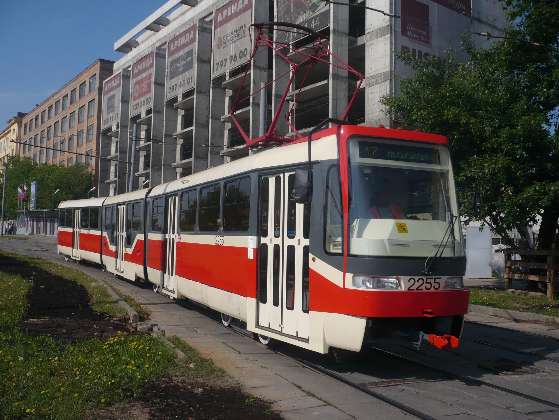 Линию московского скоростного трамвая начнут строить в 2019 году