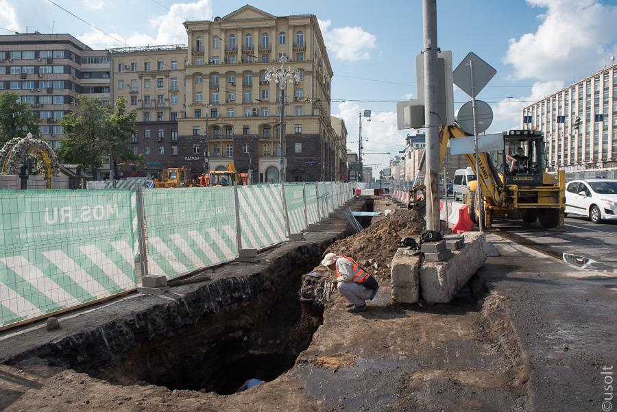 Из Тверской улицы сделают археологический музей