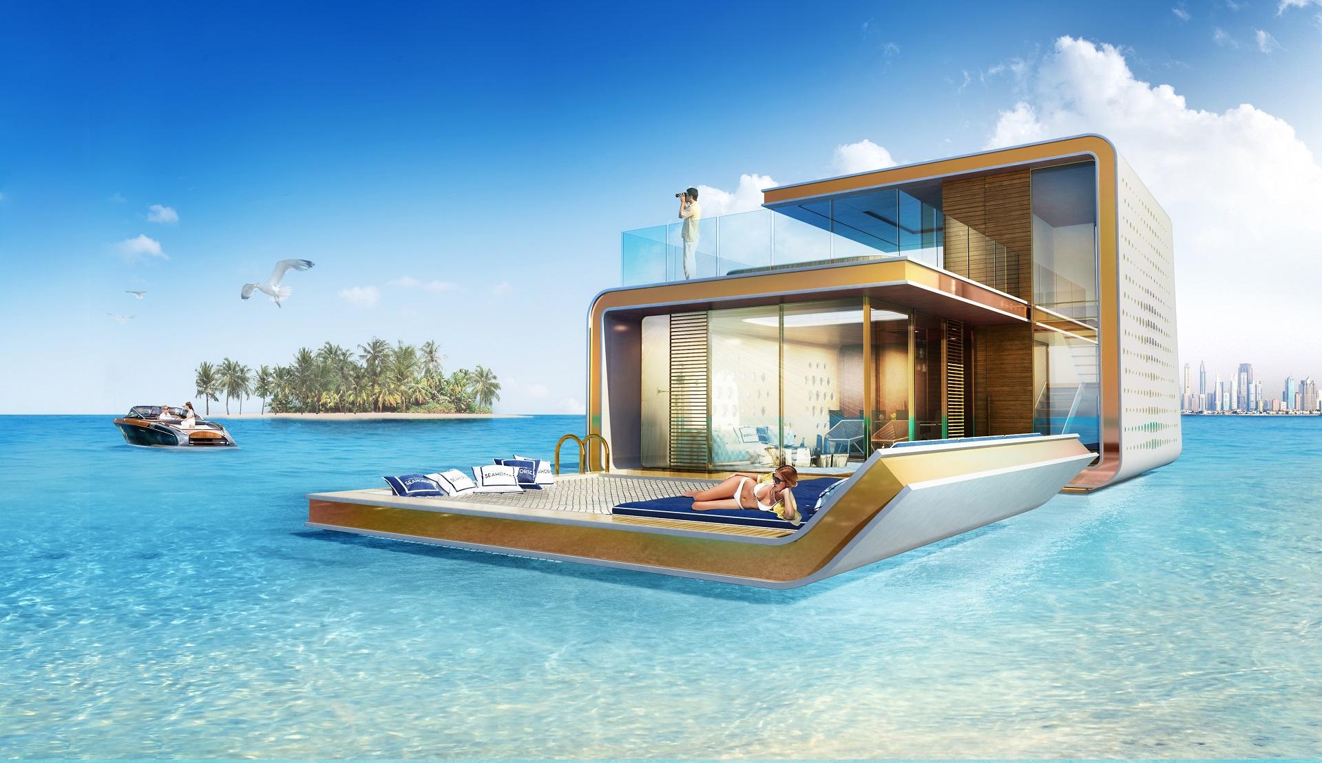 В Дубае показали новую коллекцию плавучих домов