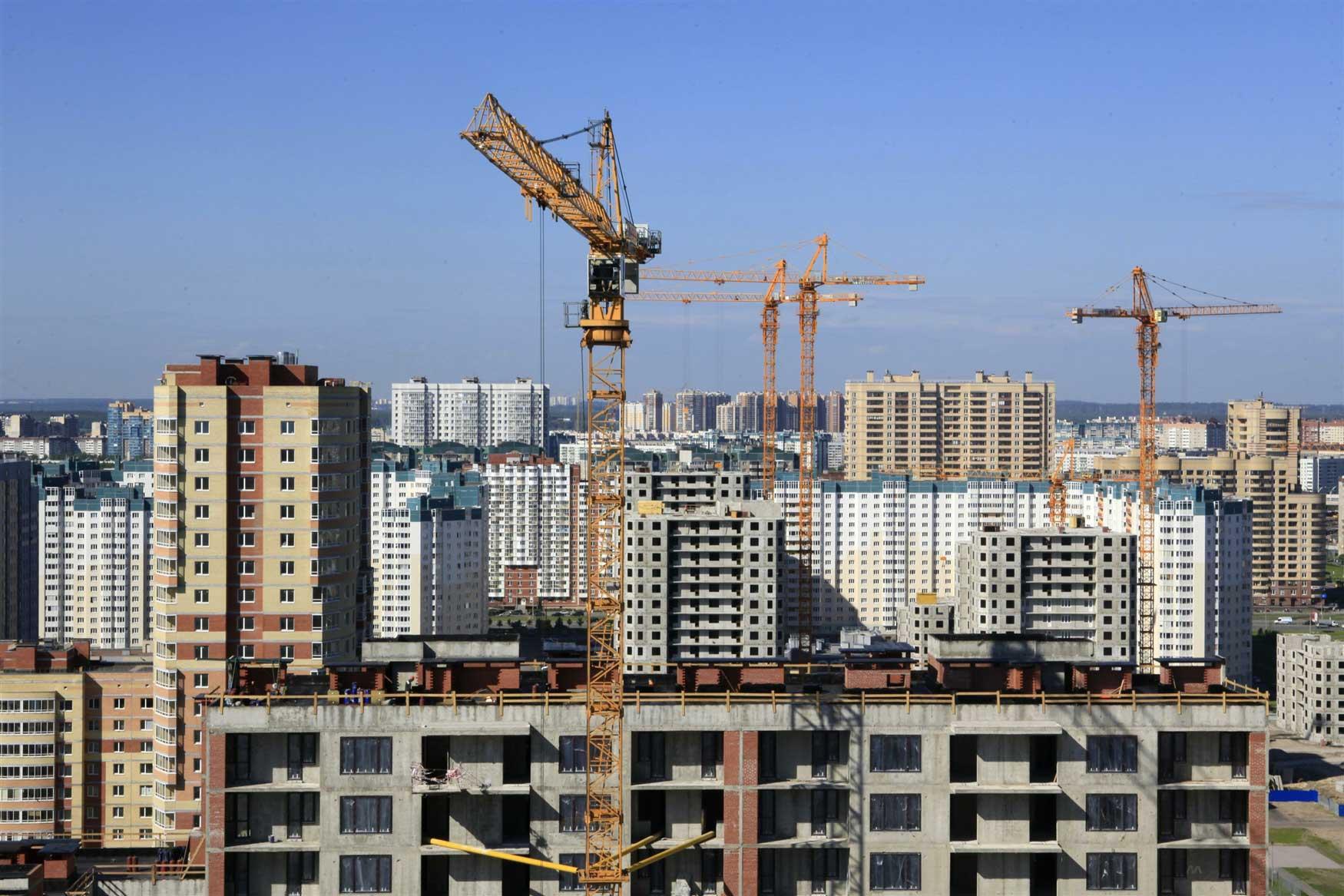 С начала года ввод жилья в Москве упал на треть