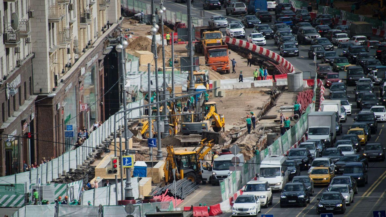 Реконструкция улиц Москвы увеличит на треть пешеходный трафик
